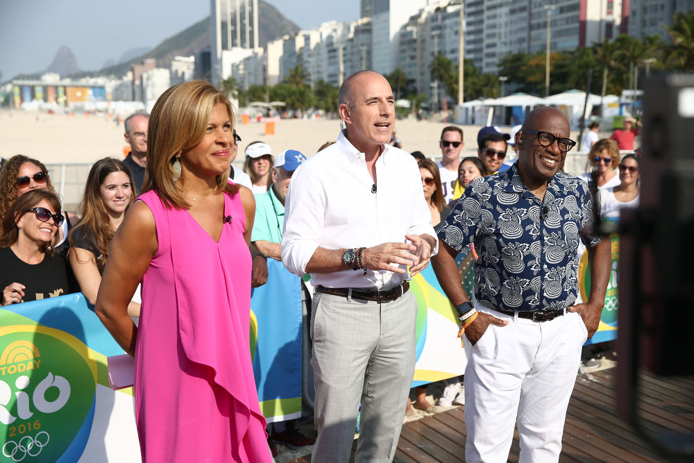TODAY show hosts at the Rio Olympics